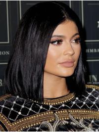 Wavy Capless Medium Black Kylie Jenner Wigs