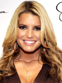 Lace Front Without Bangs 16 Inches Affordable Jessica Simpson Long Hair