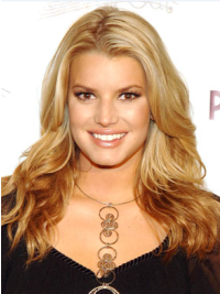 Lace Front Layered 18 Inches Sassy Jessica Simpson Long Wigs