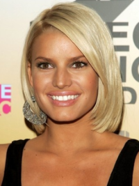100% Hand-Tied Blonde Remy Human Hair New Jessica Simpson Hair