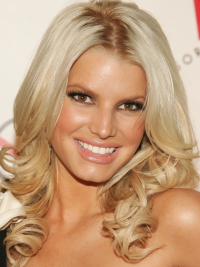 Lace Front Blonde Remy Human Hair Great Jessica Simpson Long Hair