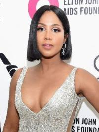 Capless Bobs 12 Inches High Quality Toni Braxton Straight Wigs