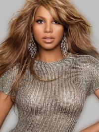 Capless Layered Wavy 21 Inches Best Toni Braxton Wigs Toni Braxton Wigs For Sale