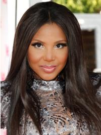 Full Lace Without Bangs Straight 16 Inches Hairstyles Toni Braxton Wig