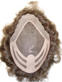Lace Front Natural Hair Line Men Toupee