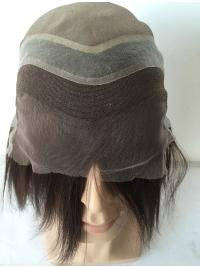 Mono Base With French Lace in Front For Man Wig