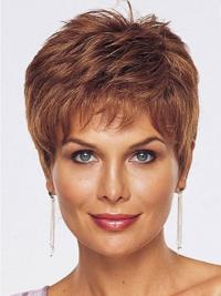 Auburn Boycuts Sassy Synthetic Lace Front Wigs