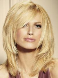 """Suitable Straight 14"""" Human Hair Lace Front Wigs"""