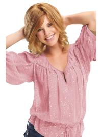 Chin Length Wavy Layered Lace Front Best Blonde Human Hair Wigs