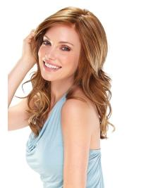 Affordable Monofilament Long Wavy 16 Inches Synthetic Wigs That Look Real