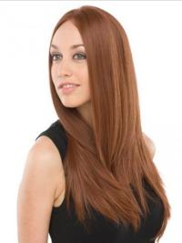 With gorgeous, long straight layers, this 100% remy human hair wig give you charming looks and ultra comfortable fit.