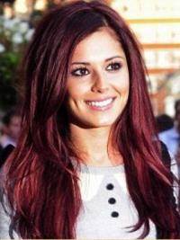 Capless Without Bangs Synthetic Cheryl Cole Cheap Wigs