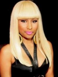 Capless Blonde With Bangs Popular Nicki Minaj Wig Collection