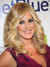 Blonde Wavy Long Soft Kim Zolciak Wig Maker