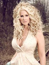 Blonde Curly Long Popular Wigs By Kim Zolciak