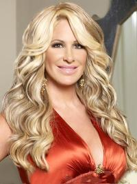 Blonde Wavy Long Affordable Kim Zolciak Products