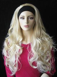 No-Fuss Capless Wavy Long Half Wigs