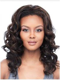 Shoulder Length Wavy Great Half Wig Styles For Natural Hair