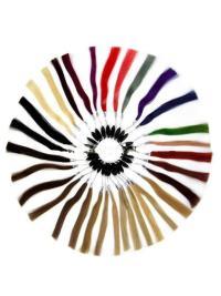 Human Hair Color Rings