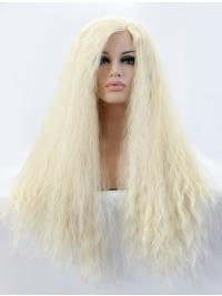 Blonde Long 21 Inches Colorful Best Lace Front Wigs
