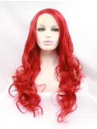 Sassy Long 21 Inches Lace Front Colorful Curly Lace Front Wigs