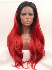Synthetic Wavy Colorful Really Good Lace Front Wigs