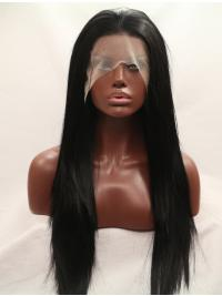 Synthetic Without Bangs Lace Front Wigs For Black Hair