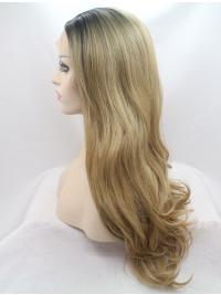 Without Bangs Synthetic Soft Best Lace Front Wigs