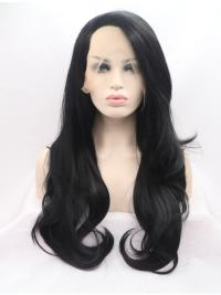 Layered Synthetic No-Fuss Real Lace Front Wigs