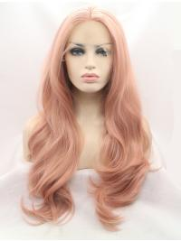 Layered Synthetic Ideal Natural Looking Lace Front Wigs