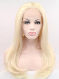 Without Bangs Synthetic Cheapest Natural Hairline Lace Wigs