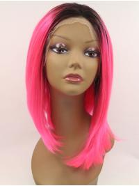Without Bangs Synthetic Fashion Lace Cap Wigs