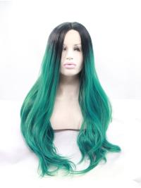 Wavy Long 29 Inches Online No Glue Lace Front Wigs