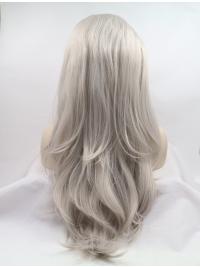 Layered Wavy No-Fuss Natural Lace Front Wig
