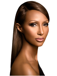 Without Bangs Long 18 Inches Comfortable Iman Wigs For Sale