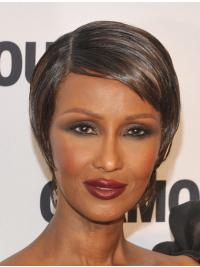 Celebrity Wigs Lines Boycuts Cropped 6 Inches Great