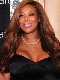 Wavy Auburn Top Wendy Williams Wigs With Natural Parts