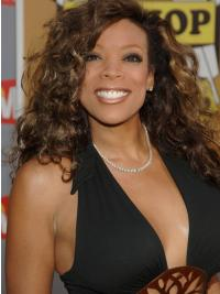 Capless Designed Wendy Williams Curly Real Hair Wigs