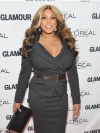 Ombre/2 Tone Wavy Synthetic Gorgeous Wendy Williams Wigs