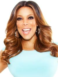 Great Remy Human Hair Wavy 16 Inches Wendy Williams Wigs