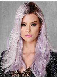 Lace Front Without Bangs Fashion Wigs Online
