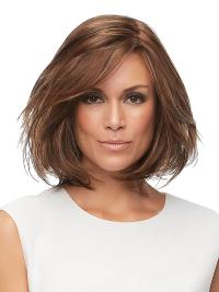 The Wig is a lengthy bob with layered ends that create shape and movement.