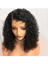 Short Curly Lace Front Human Hair Wigs Pre Plucked With Baby Hair Brazilian Remy Hair Lace Front Wigs