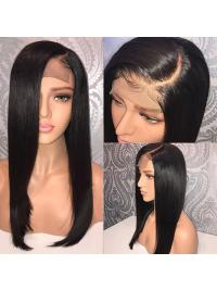 Lace Front Human Hair Wigs Pre Plucked Hairline With Baby Hair Straight Brazilian Remy Hair Wigs For Black Women