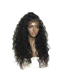 360 Lace Frontal Wig Pre Plucked With Baby Hair Water Wave Lace Front Human Hair Wigs Brazilian Remy Hair