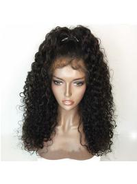 Human Hair Wigs Curly Brazilian Remy Hair Lace Front Wig With Baby Hair Pre Plucked Natural Hariline