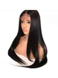 250% Density Pre Plucked With Baby Hair Straight Brazilian Lace Front Human Hair Wigs