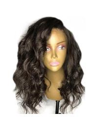 Bob Wig Lace Front Pre Plucked Hairline Body Wave Short Brazilian Remy Hair Wigs With Baby Hair