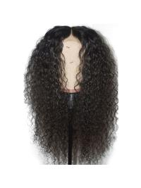 "Curly 360 Lace Frontal Wig 180% Density Brazilian Human Hair Wigs Pre Plucked Hairline 10""-22"""