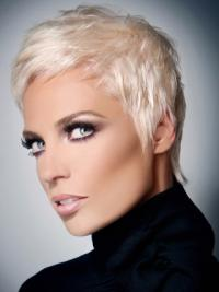 Capless Grey Short New Fashion Wigs
